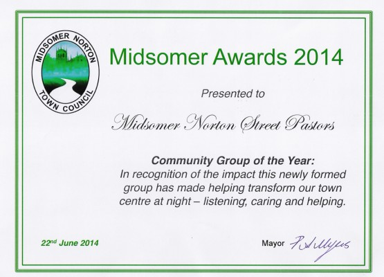 MSN Community Group of the Year Award 2014